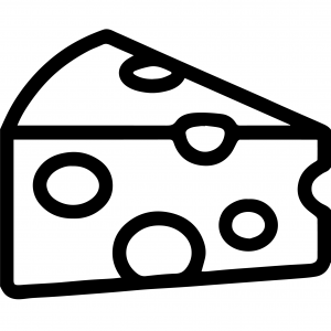 Handhabung, Icon Käse, Lebensmittelindustrie,