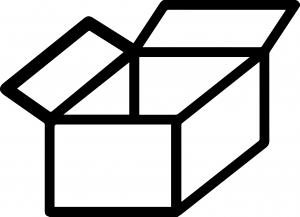 Icon Karton, Logisitk, Handhabung