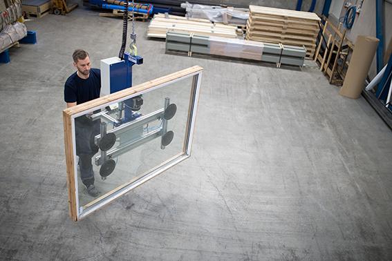 TAWILift Balancer, Manipulatoren, Handhabung, Glas, Fenster, Industrie