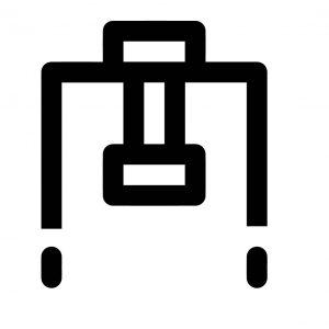 Handhabung, Icon Maschinenbau.