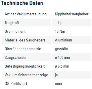Info Kipphebelsauger