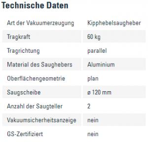 Info Kipphebelsaugheber