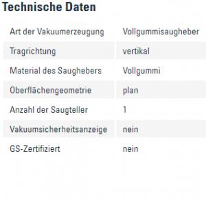 Info Vollgummisaugheber