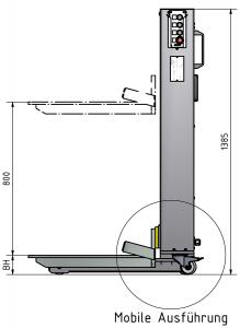 Behälter, Hebegerät, Hebegeräte, Heben, HM, 990, Mobil, Mobile Ausführung