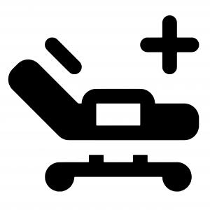 Icon, Krankenhaus, Krankenanstalt, Krankenhäuser, Krankenanstalten, Betten, Krankenhausbetten, Pflegebetten