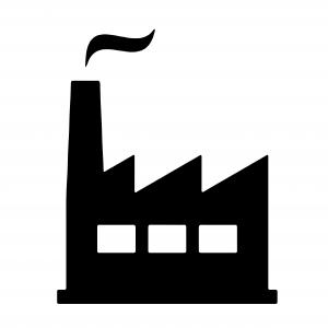 Icon, Industrie, Firma, Unternehmen