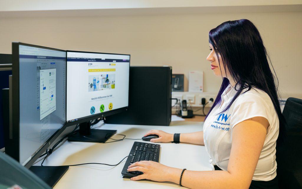 HtW, Jeanine Windbacher, Handhabungstechnik, Winter, Mitarbeiter, Webdesign, Social Media, Homepage, Insights