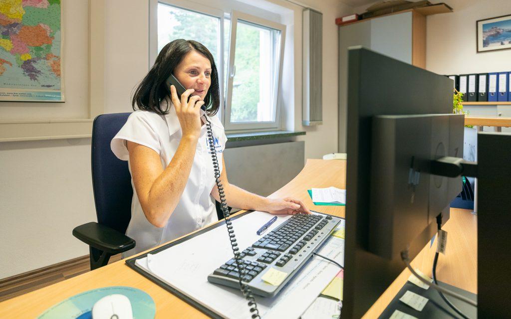 HtW, Sonja Nagl, Handhabungstechnik, Winter, Mitarbeiter, Insights, Office, Assistenz, Organisation, Telefon, Beratung, Auskunft,